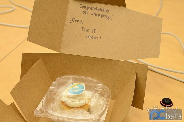 微软IE团队为Firefox 6 赠送蛋糕