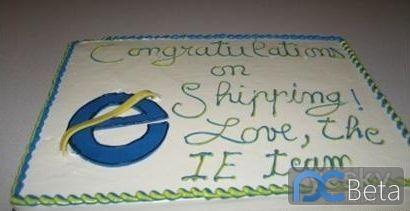 微软IE团队为Firefox赠送蛋糕回顾
