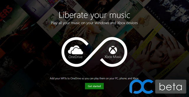 微软 Xbox Music 全平台支持播放 OneDrive 音乐