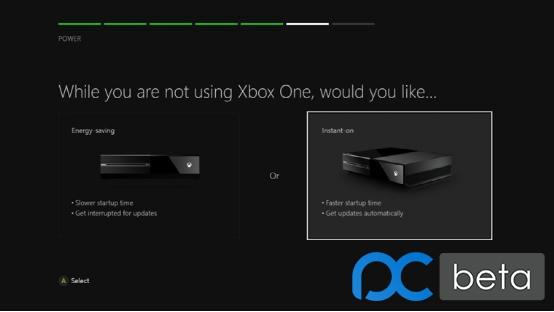 更省电 微软为Xbox One加入新节能电源选项